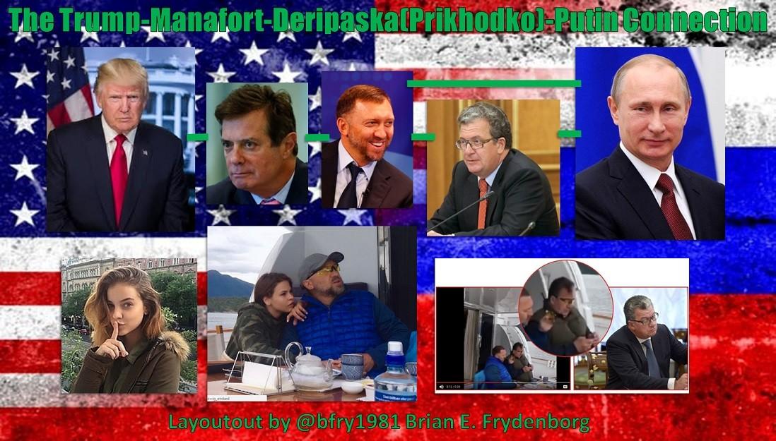The Trump-Manafort-Deripaska(Prikhodko)-Putin Connection